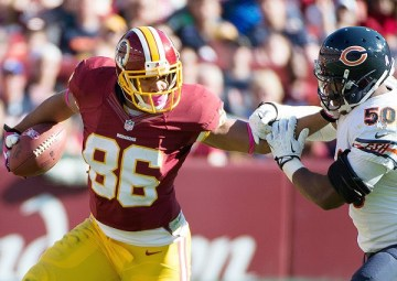 Jordan Reed, Harry E Walker Getty Images